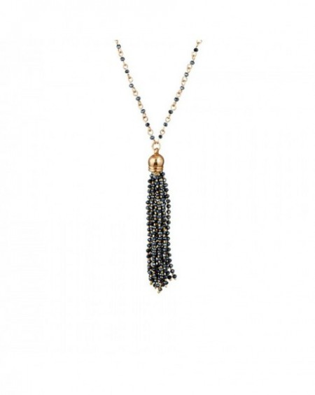 Collier Massaï Surate Perles noires
